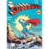 DC Comics Superman Zap Large Tin Sign (29.7cm x 42cm): Image 1