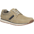 Clarks Men's Beachmont Edge Nubuck Trainers - Taupe: Image 2