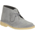 Clarks Originals Women's Suede Desert Boots - Blue/Grey: Image 2