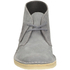 Clarks Originals Women's Suede Desert Boots - Blue/Grey: Image 4