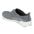 Clarks Women's Tri Angel Leather Sporty Shoes - Grey/Blue: Image 6