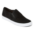 Clarks Women's Glove Puppet Suede Slip-On Trainers - Black: Image 4