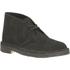Clarks Originals Women's Suede Desert Boots - Black: Image 2