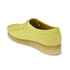 Clarks Originals Women's Wallabee Shoes - Pale Lime: Image 6