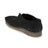 Clarks Originals Men's Wallabee Shoes - Black Suede: Image 6