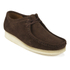 Clarks Originals Men's Wallabee Shoes - Dark Brown Suede: Image 2