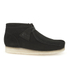 Clarks Originals Men's Wallabee Boots - Black Suede: Image 1