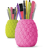 Seriously Tropical Pineapple Pen Pot - Pink: Image 2