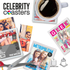 Celebrity Coasters Tempered Glass Coasters (Pack of 4): Image 2