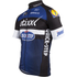 Etixx Quick-Step Short Sleeve Long Zip Jersey 2016 - Black/Blue: Image 3