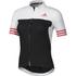 adidas Women's Adistar Short Sleeve Jersey - Black/Shock Red: Image 1