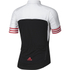 adidas Women's Adistar Short Sleeve Jersey - Black/Shock Red: Image 2