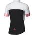 adidas Women's Adistar Short Sleeve Jersey - Black/Shock Red: Image 2