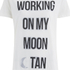MINKPINK Women's Moon Dance T-Shirt Dress - White/Black: Image 4
