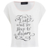 MINKPINK Women's Dreamers Tank Top - White Blush: Image 1