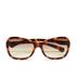Calvin Klein Jeans Women's Oversized Sunglasses - Warm Tortoise: Image 1