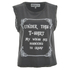 Wildfox Women's Cramped Wings Tank Top - Dirty Black: Image 1