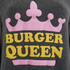 Wildfox Women's Burger Queen Baggy Beach Jumper - Dirty Black: Image 3