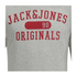 Jack & Jones Men's Seek Crew Neck Sweatshirt - Light Grey Marl: Image 3