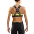 Skins DNAmic Women's Speed Crop Top - Black/Limoncello: Image 2