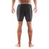 Skins DNAmic Men's Superpose Half Tights - Grey/Citron: Image 2