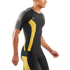 Skins DNAmic Men's Short Sleeve Top - Black/Citron: Image 3