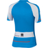 Sportful Gruppetto Children's Short Sleeve Jersey - Blue/White/Red: Image 2