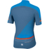Sportful Gruppetto Pro Race Short Sleeve Jersey - Blue/Red: Image 2