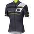 Sportful Gruppetto Pro Team Short Sleeve Jersey - Grey/Black/Yellow: Image 1