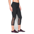 Under Armour Women's Mirror Colour Block Crop Leggings - Black: Image 3