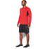 Under Armour Men's CoolSwitch Run Long Sleeve Top - Red: Image 4