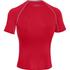 Under Armour Men's Armour HeatGear Short Sleeve Training T-Shirt - Red/Steel: Image 2