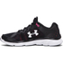 Under Armour Women's Micro G Assert G Running Shoes - Black/Red/White: Image 5