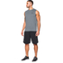 Under Armour Men's Tech Sleeveless T-Shirt - Grey: Image 4