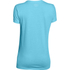 Under Armour Women's Favourite Short Sleeve Crew T-Shirt - Sky Blue: Image 2