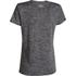 Under Armour Women's Twist Tech V Neck T-Shirt - Black: Image 2