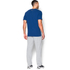 Under Armour Men's Tri-Blend Pocket T-Shirt - Blue: Image 5