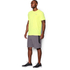 Under Armour Men's Streaker Run Short Sleeve T-Shirt - Yellow: Image 4
