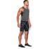 Under Armour Men's HeatGear Armour Compression Shorts - Black: Image 4