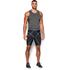 Under Armour Men's HeatGear Armour Compression Shorts - Black: Image 3