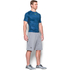 Under Armour Men's HeatGear Armour Printed Short Sleeve Compression Shirt - Blue/Yellow: Image 4