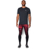 Under Armour Men's Launch Printed Compression Leggings - Red: Image 3