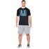 Under Armour Men's Tech Boxed Logo T-Shirt - Black: Image 3