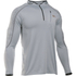 Under Armour Men's CoolSwitch Run Podium 1/4 Zip Top - Grey: Image 1