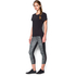 Under Armour Women's Mirror Printed Crop Leggings - Black: Image 5