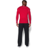 Under Armour Men's ColdGear Armour Compression Long Sleeve Crew Top - Red: Image 5