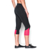 Under Armour Women's Fast Forward 2.0 Run Capri - Black/Pink: Image 4