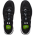 Under Armour Men's Charged Ultimate Low Training Shoes - Black/White: Image 4