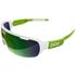 POC DO Half Blade Sunglasses - Hydrogen White/Cannon Green: Image 1