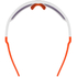POC DO Blade AVIP Sunglasses - Hydrogren White/Zinc Orange: Image 2